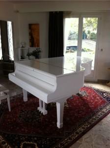 Déménager piano à queue - départ