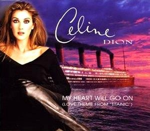 Partition piano gratuite Titanic My heart will go on Céline Dion